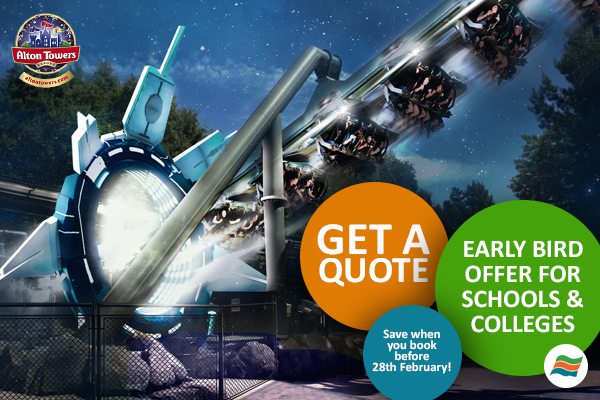 Alton Towers Early Bird Rates