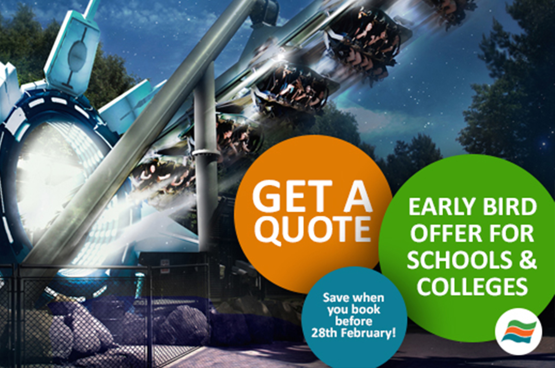 early bird rates for alton towers school trips