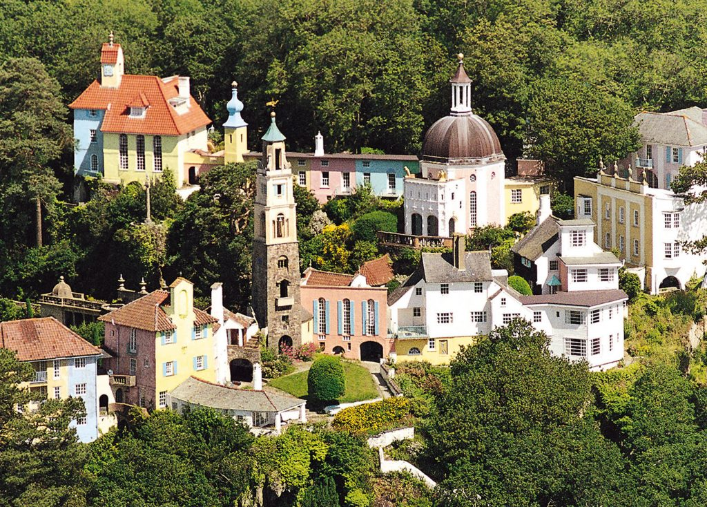 Portmeirion - a favourite with Selwyns Day Trips