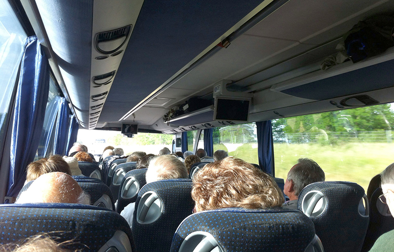 People On Coach Day Trip