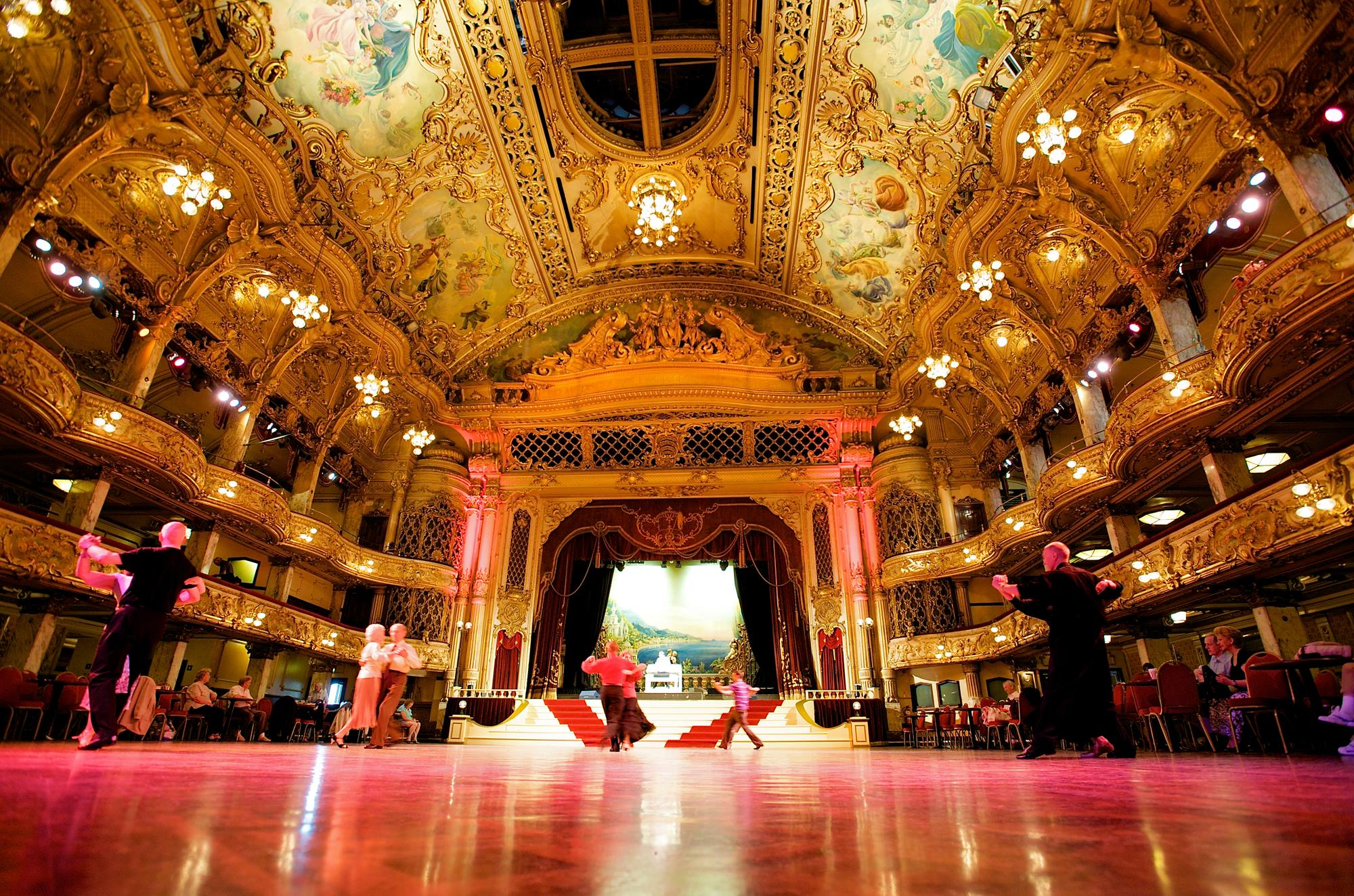 Blackpool Tower Ballroom & Afternoon Tea