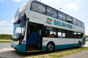 One of Selwyns Travel double decker buses - perfect for schools or large groups.