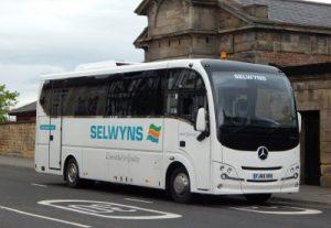 Selwyns 36 seater midi coach