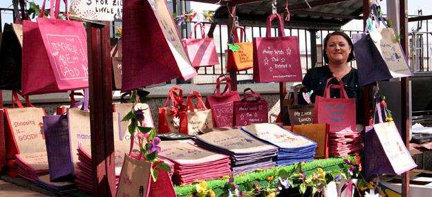 Bury Market Stall