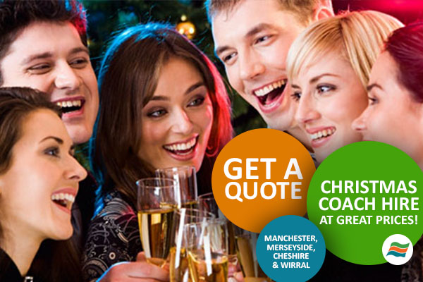 Selwyns Travel provide coach hire for Christmas parties all over the North West!