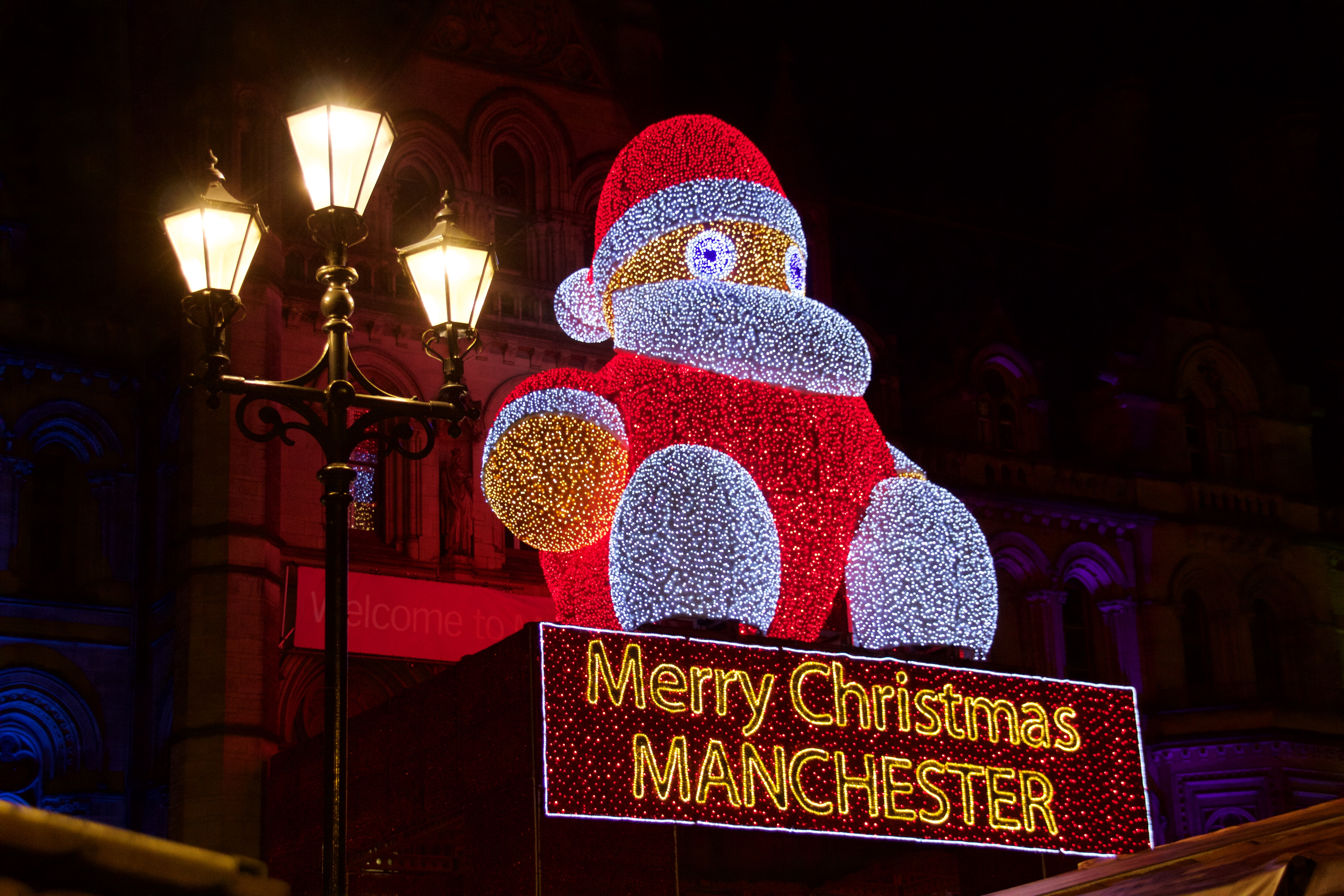 Manchester Christmas market day trip