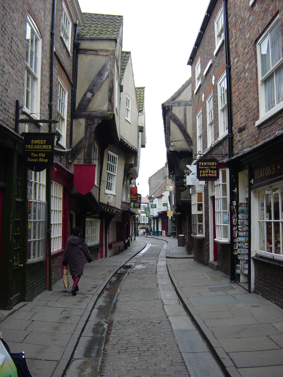 York Christmas shopping trips