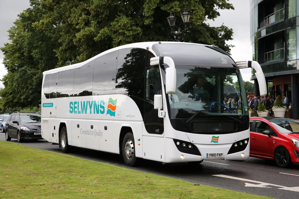 Choose Selwyns for your Chester coach hire