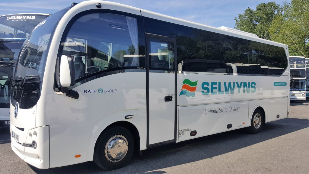 Selwyns corporate mini bus hire