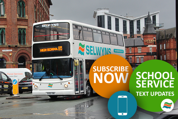 tfgm school bus text alerts
