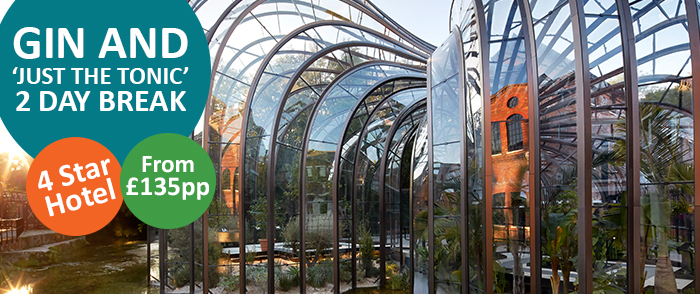 Bombay Sapphire Distillery Tour with Bicester Shopping Village