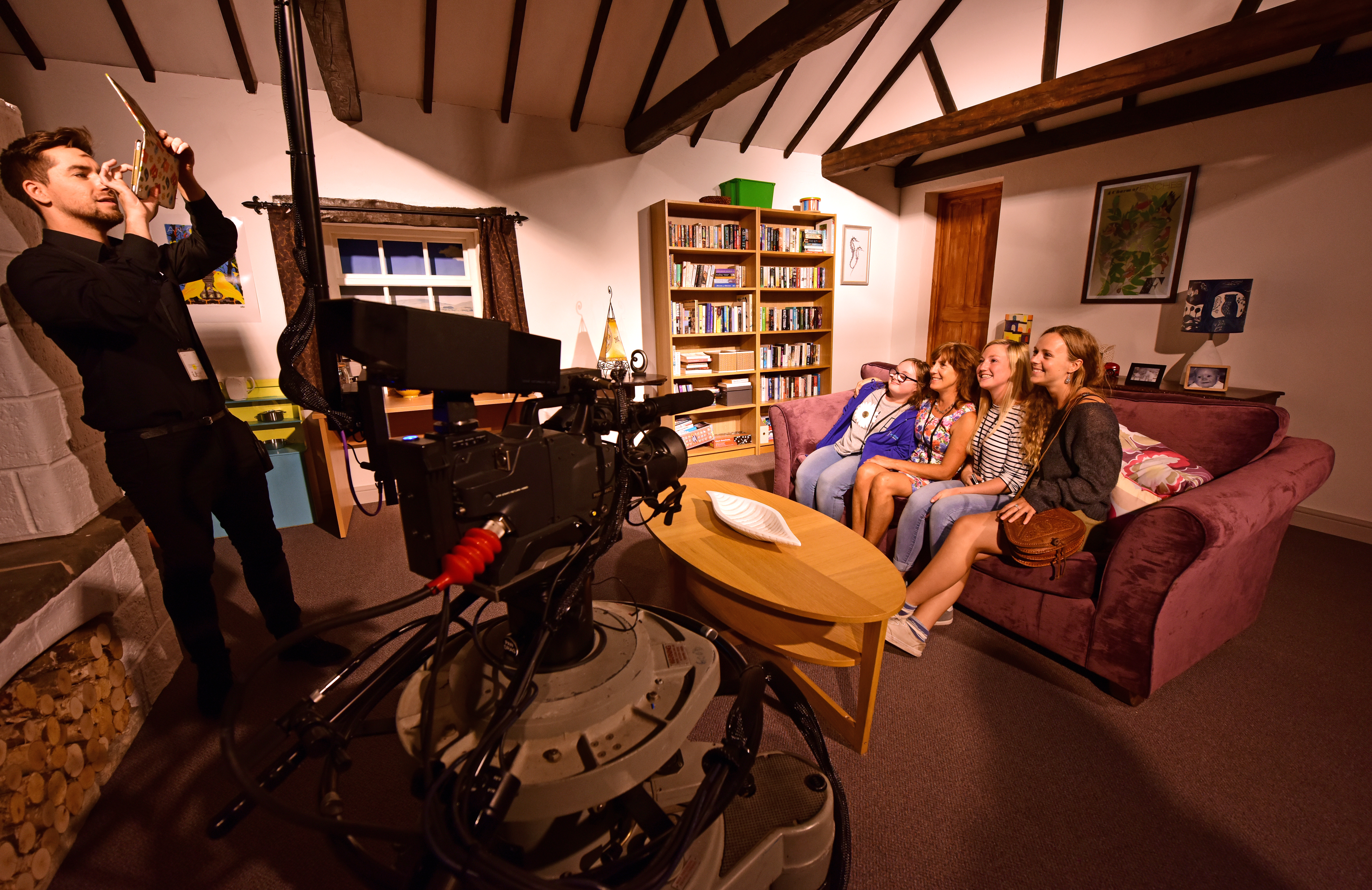 Our day trips from Warrington include the Emmerdale Studio Experience.