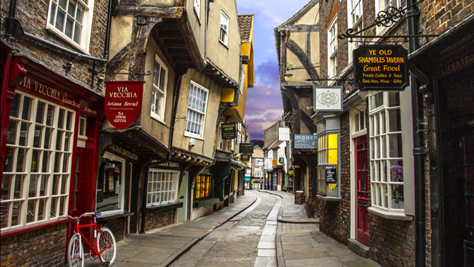 Pay a visit to the Shambles on your day trip to York!